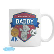 Personalised Me to You Bear Football Mug