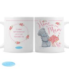 Personalised Home Is Where Your Mum Is Me to You Mug