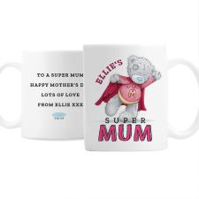 Personalised Me to You Bear Super Mum Mug