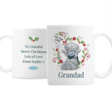 Personalised Me to You Bear Christmas Mug