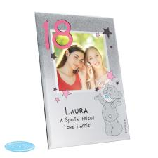 Personalised Me to You Bear Glitter Glass Photo Frame