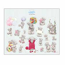 Me to You Bear Tatty Teddy Large 3D Stickers