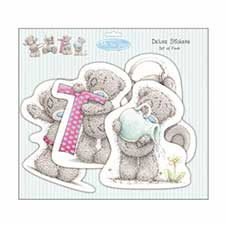 Me to You Bear Tatty Teddy Deluxe Stickers Set of 4