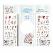500 Piece Me to You Bear Super Sticker Set