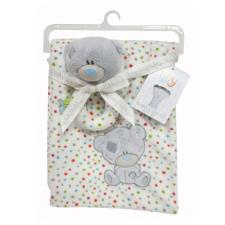 Tiny Tatty Teddy Baby Blanket & Soft Rattle Gift Set