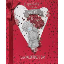 Wife Luxury Me to You Bear Valentines Day Card