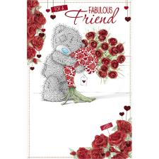 Fabulous Friend Me to You Bear Valentines Day Card