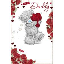 Daddy Me to You Bear Valentines Day Card