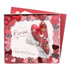 One I Love Luxury Boxed Me to You Bear Valentine's Day Card