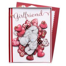 Girlfriend Me to You Bear Valentine's Day Luxury Boxed Card
