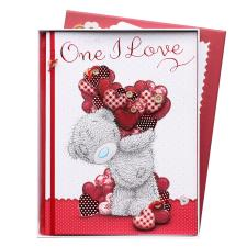 One I Love Me to You Bear Valentine's Day Luxury Boxed Card