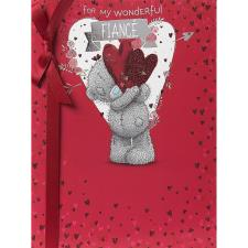 Fiance Large Me to You Bear Valentines Day Card