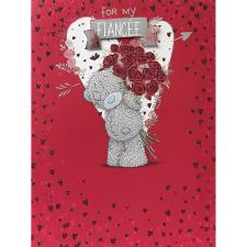 Fiancee Large Me to You Bear Valentines Day Card