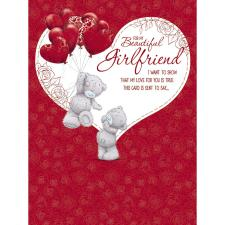 Girlfriend Large Pop Up Me to You Bear Valentines Day Card