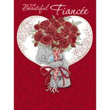 Fiancee Large Pop Up Me to You Bear Valentines Day Card