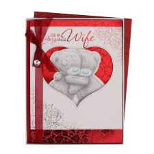 Wife Large Me to You Bear Valentines Day Boxed Card