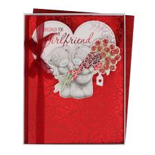 Girlfriend Large Me to You Bear Valentines Day Boxed Card