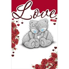 Love You Me to You Bear Valentines Day Card