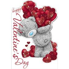 Tatty Teddy With Hearts Me to You Bear Valentines Day Card