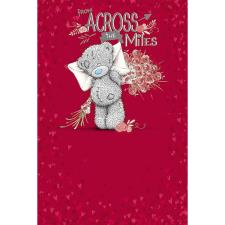 Across the Miles Me to You Bear Valentines Day Card