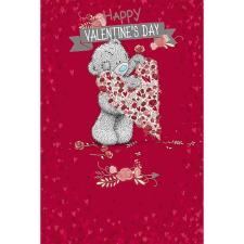 Heart of Roses Me to You Bear Valentines Day Card