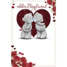 Wonderful Boyfriend Me to You Bear Valentines Day Card