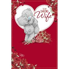 Darling Wife Me to You Bear Valentines Day Card