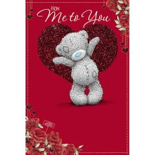 From Me to You Me to You Bear Valentines Day Card