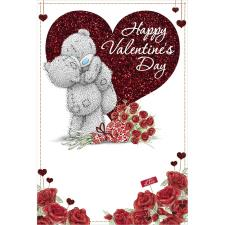 Tatty Teddy Hugging Me to You Bear Valentines Day Card