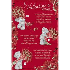 Valentines Message Me to You Bear Valentines Day Card