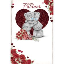 Partner Me to You Bear Valentines Day Card