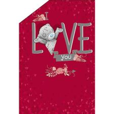 I Love You Me to You Bear Pop Up Valentines Day Card