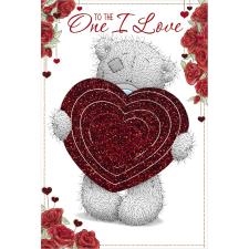 One I Love Me to You Bear Pop Up Valentines Day Card