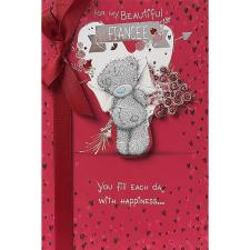 Fiancee Me to You Bear Valentines Day Card
