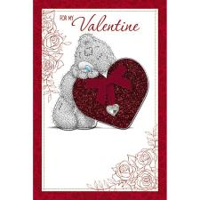 Tatty Teddy With Heart Me to You Bear Handmade Valentines Day Card