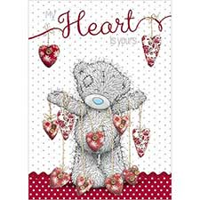 My Heart Is Yours Me to You Bear Valentine's Day Card