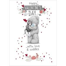 Cat Valentines Day  Me to You Bear Card