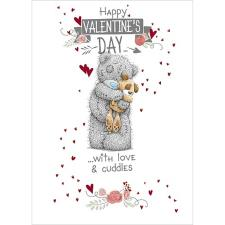 Dog Valentines Day Me to You Bear Card