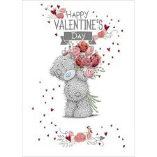 Rose Bouquet Me to You Bear Valentines Day Card