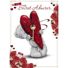 Secret Admirer Me to You Bear Valentines Day Card