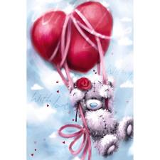 Heart Balloon Me to You Bear Valentines Day Card