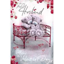 Perfect Husband Me to You Bear Valentines Day Card