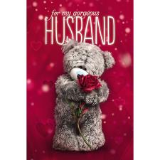 Husband Photo Finish Me to You Bear Valentines Day Card