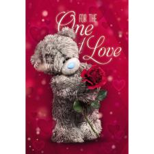 One I Love Photo Finish Me to You Bear Valentines Day Card