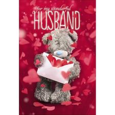 3D Holographic Husband Me to You Bear Valentines Day Card