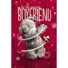 3D Holographic Boyfriend Me to You Bear Valentines Day Card