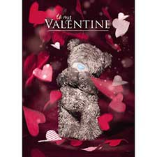 3D Holographic Valentine Me to You Valentine's Day Card