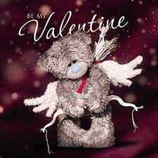 3D Holographic Cupid Me to You Bear Valentine's Day Card