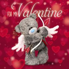 3D Holographic My Valentines Me to You Bear Valentines Day Card