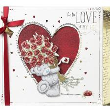 Love of My Life Large Me to You Bear Valentines Day Boxed Card